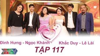 VỢ CHỒNG SON - Tập 117 | Đình Hưng - Ngọc Khánh | Khắc Duy - Lê Lài | 01/11/2015