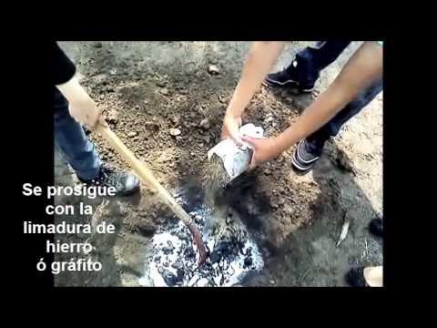Video de tierra fisica casera youtube for Instalar toma de tierra