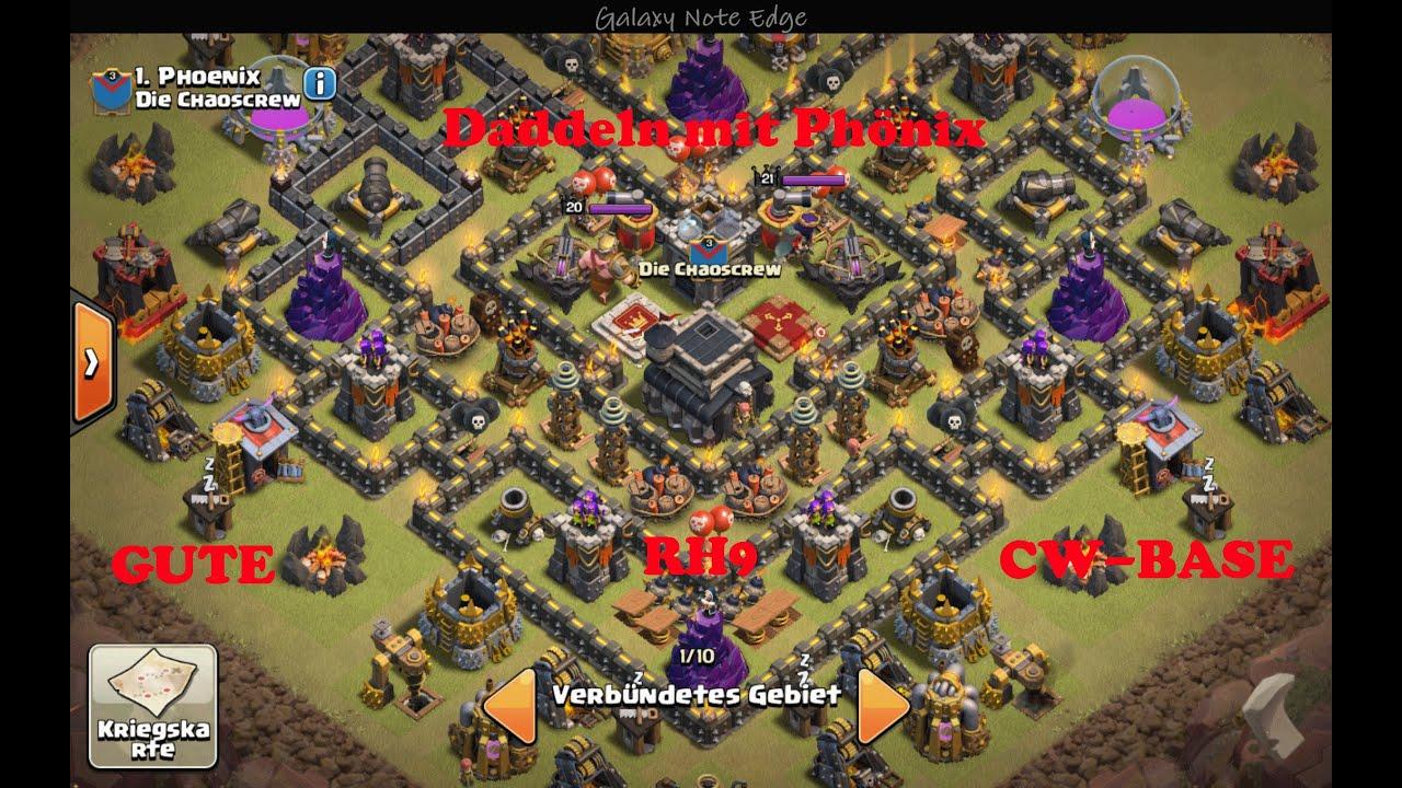clash of clans gute rh 9 cw base speedbuild   youtube