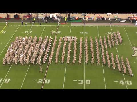 Fightin' Texas Aggie Band Halftime Drill - Mississippi State Game at Kyle Field  - 10/28/17