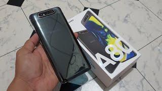 Samsung Galaxy A80 Phantom Black unboxing