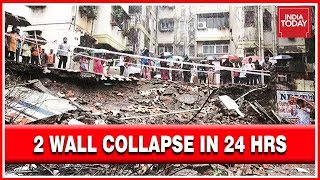 12 Killed & 13 Injured In Wall Collapse In Malad Due To Heavy Rain 2nd Collapse In 24 Hrs