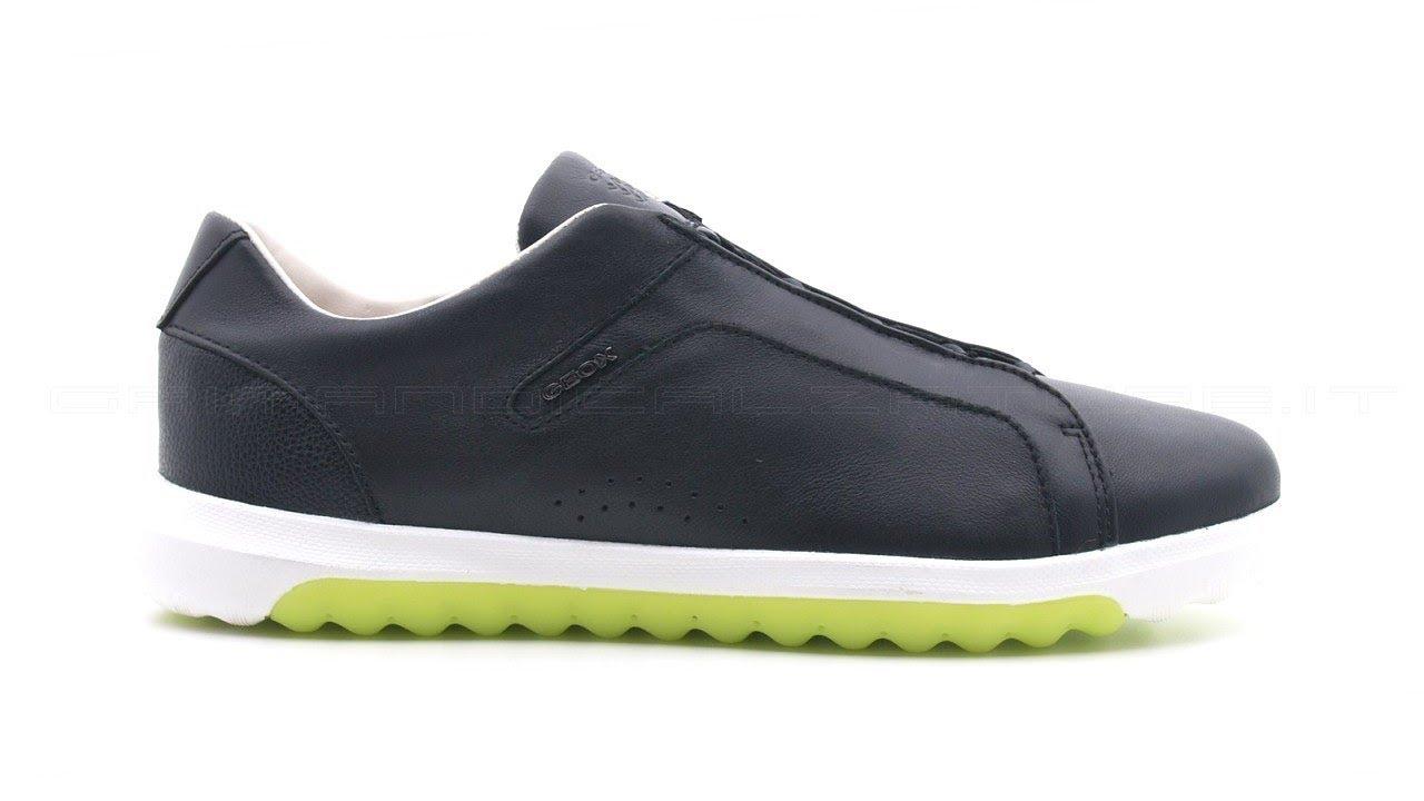 best website 6dd1e 196a4 Geox uomo Nexside sneakers nera SKU #U927GA-NER