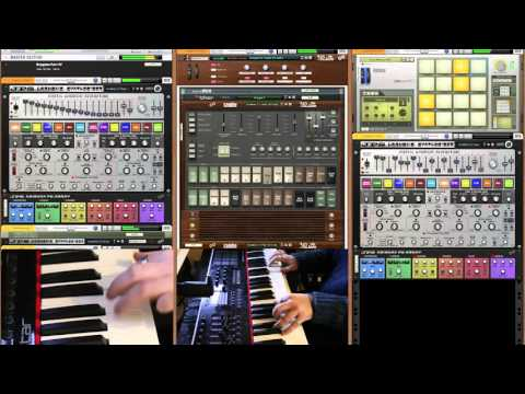 Oxygene IV Live on the JPS Harmonic Synthesizer and Combo 310U