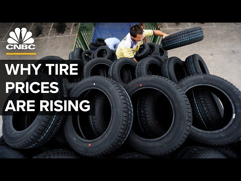 Why Tire Prices Are Rising