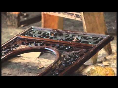 Art Treasures Gallery: antique Chinese furniture warehouse, Zhuhai, southern China