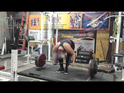 390 Lbs Deadlift For 5 Reps