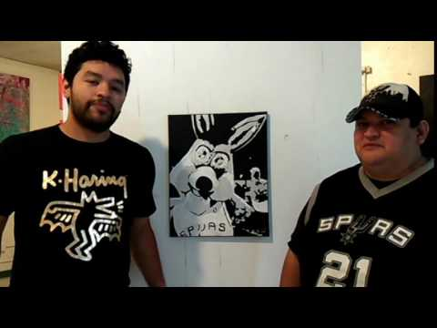 Interview with local San Antonio artist Albert Gonzales.