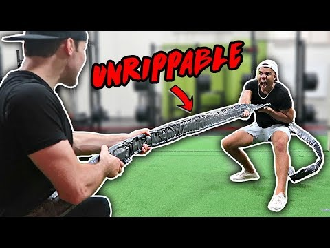 THIS TAPE IS UNRIPPABLE!! (WORLD'S STRONGEST TAPE)