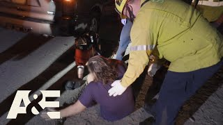 Live Rescue: Woman PASSES OUT on Highway (S3) | A&E