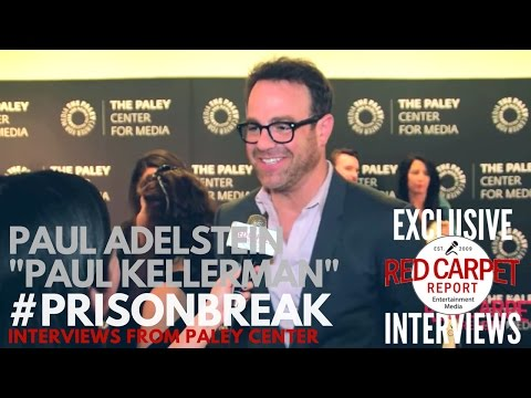 Paul Adelstein interviewed at FOX's Prison Break S5 Paley Center Event & Panel