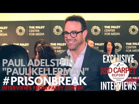 Paul Adelstein ed at FOX's Prison Break S5 Paley Center Event & Panel