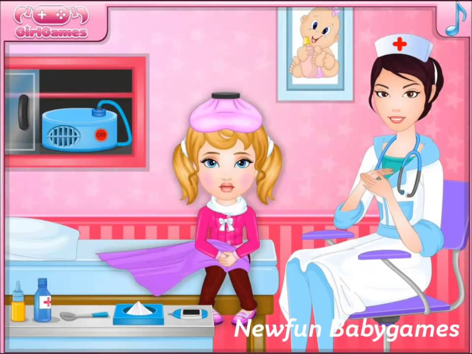 play poor baby s sick today game movie now new baby games online