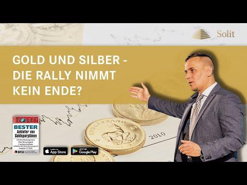 Gold und Silber – Die Rally nimmt kein Ende? − Webinar mit M.Blaschzok (13.08.2020)