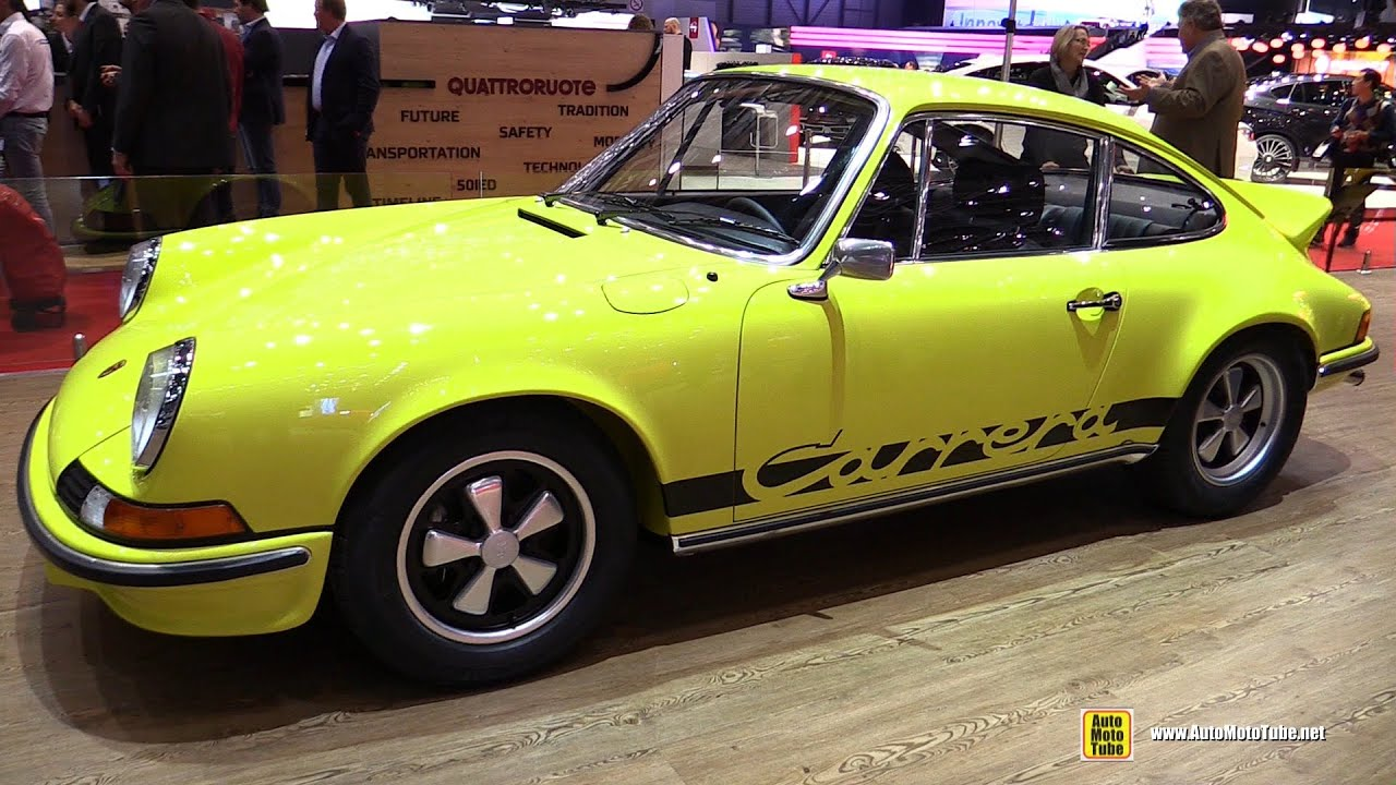 1973 porsche 911 carrera rs restored by ruf exterior walkaround 1973 porsche 911 carrera rs restored by ruf exterior walkaround 2016 geneva motor show youtube vanachro Choice Image