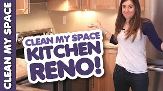 We're Doing a Kitchen Reno and We're Filming the Madness!! (Clean My Space) Thumbnail