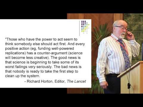 Professor James Coyne Presentation on PACE Trial - Belfast 2016