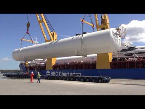 260-ton LNG tanks unloaded at JAXPORT's Talleyrand Terminal