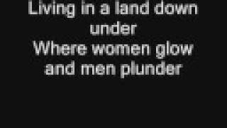 Men at Work - Land Down Under (with Lyrics) thumbnail
