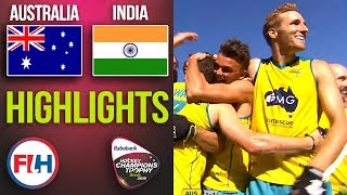Australia v India | 2018 Men's Hockey Champions Trophy FINAL | HIGHLIGHTS