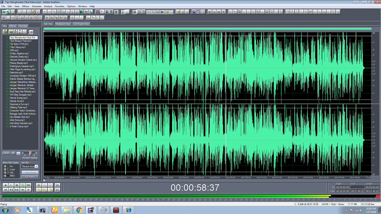 Contoh Iklan Audio Visual - Contoh Run