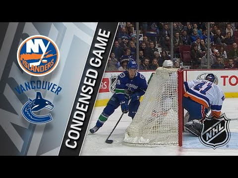 Обзор матча «Ванкувер Кэнакс» — «Нью-Йорк Айлендерс»