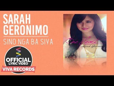 Sarah Geronimo — Sino Nga Ba Siya [Official Lyric Video]