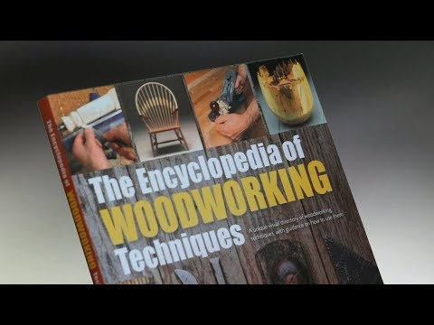 Instruction Books & Media The Encyclopedia Of Wood Working Techniques Art Supplies