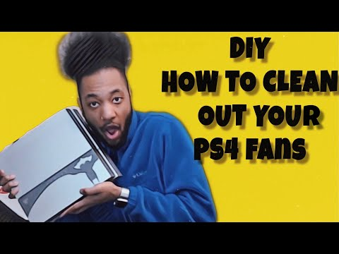 [DIY] How to clean out your PS4 fans with Twohousephones