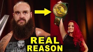 Real Reasons Why Maria Kanellis Won the WWE 24/7 Title and Confronted Braun Strowman