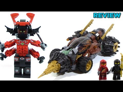 LEGO Ninjago Legacy 70669 Cole's Earth Driller Review