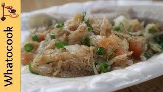 How To Make Saltfish Buljol Trini Style