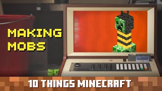 Making Mobs: Ten Things You Probably Didn't Know About Minecraft