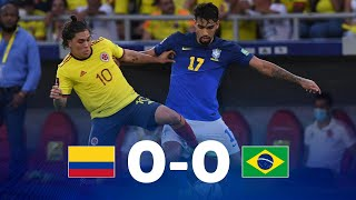 Колумбия  0-0  Бразилия видео
