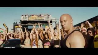 Wiz Khalifa & Iggy Azalea   Go Hard or Go Home Furious 7 Scene HD