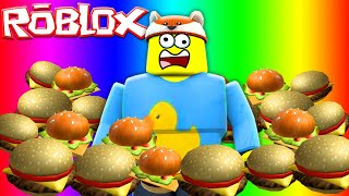 ROBLOX - EAT OR DIE! BABY DUCK IS THE FATTEST MAN IN ROBLOX