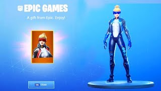 The NEW FREE SKIN NOW in Fortnite..