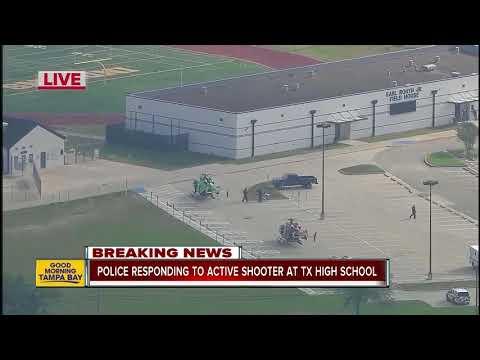 Active shooter incident at Santa Fe High School in Texas: School district