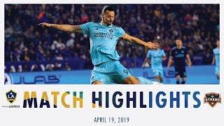 HIGHLIGHTS: LA Galaxy vs. Houston Dynamo | April 19, 2019