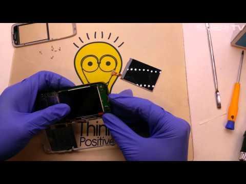 NOKIA E52 - LCD change repair - wymiana wyświetlacza