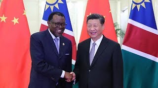 China, Namibia to deepen cooperation in infrastructure