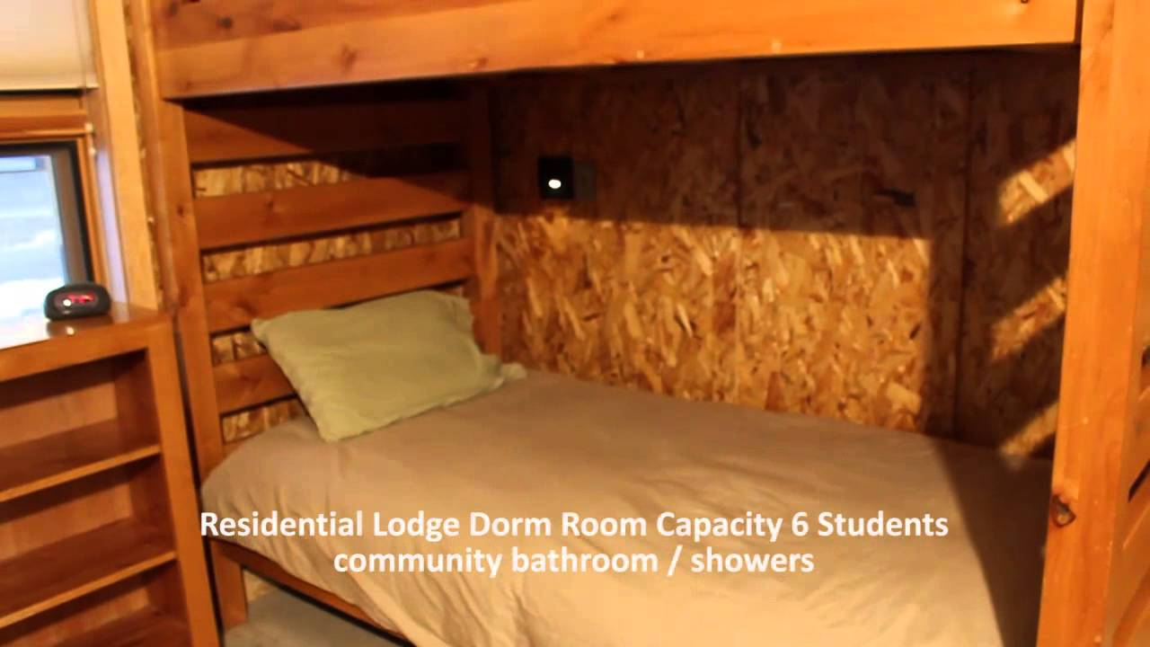 Teton Science Schools Jackson Campus Residential Lodge Downstairs Dorm    YouTube Part 37