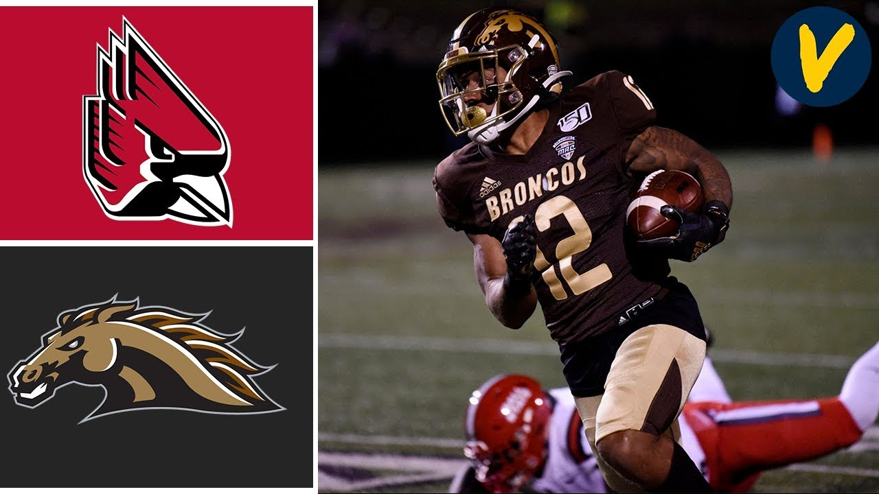 Ball State vs Western Michigan Highlights | College Football 2019