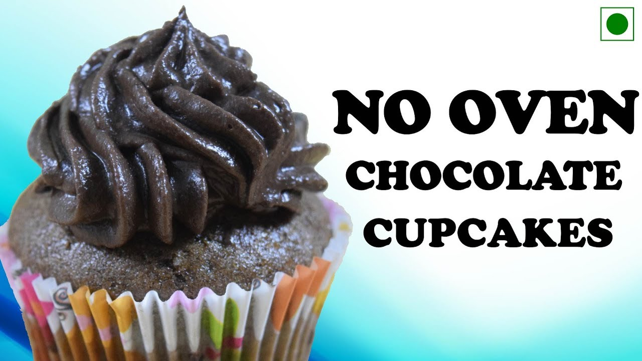 How To Make Chocolate Cupcake In Pressure Cooker Pan Without Oven