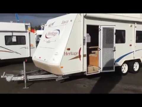 2004 JAYCO HERITAGE 23.72.1 CARAVAN Watsons Caravans Port Macquarie (Stock #8861)
