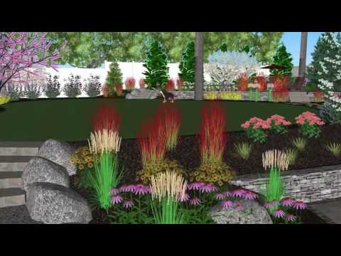 Landscape Design 3D Rendering Video - Bergen County Award Winning Landscape Company