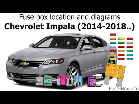 Fuse Box Location And Diagrams: Chevrolet Impala (2014-2018..)