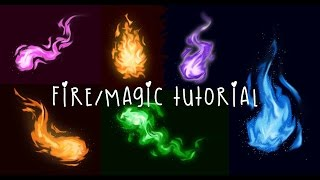 Flame/Magic Tutorial - Photoshop