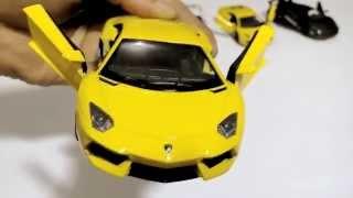 Diecast Lamborghini Aventador LP700 4 Yellow