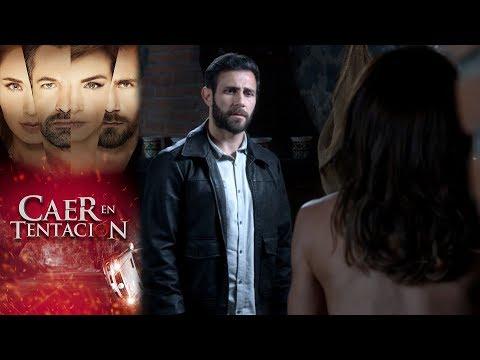 Raquel y Santiago caen en tentación | Caer en tentación - Televisa
